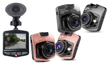 Full HD Kamera fürs Auto mit SOS-Notfallaufnahme und Bewegungserkennung in der Farbe nach Wahl (Frankfurt)