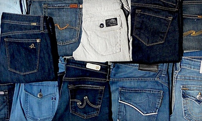 Hem Jeans - Downtown: Designer Jeans at Hem Jeans (Up to 44% Off). Two Options Available.