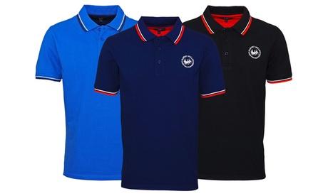 Sparangebote: Harvey MillerHerren-Poloshirt in der Farbe und Größe nach Wahl