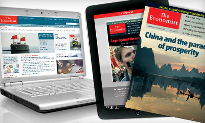"""The Economist"" - Barrie: $79 CAN for 51 Issues of the ""Economist"" ($137.19 CAN Value)"