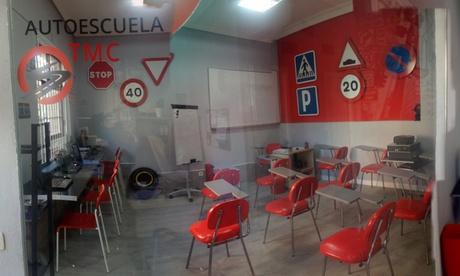 Curso para obtener el carné de coche B con libro y 5 o 10 clases prácticas desde 29,99 € en Autoescuela Aumente y TMC