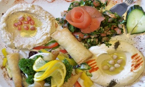 Jerusalem: Three-Course BYOB Meal for Two at Jerusalem Restaurant, Camden Street (Up to 50% Off)