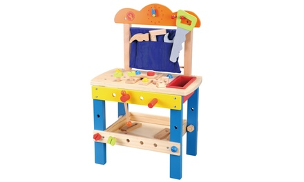 Lelin Kids' Wooden Work Bench