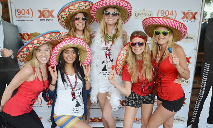 904 Happy Hour - Multiple Locations: Dos de Mayo Bar Crawl for One, Two, or Four on Saturday, May 2 from 904 Happy Hour (Up to 50% Off)