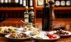 Mezzoroma - London: Two-Course Meal with Bottle of Wine for Two or Four at Mezzoroma