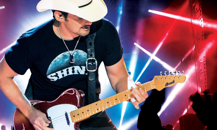 Brad Paisley - JQH Arena: Brad Paisley on Friday, February 26, at 7:30 p.m.