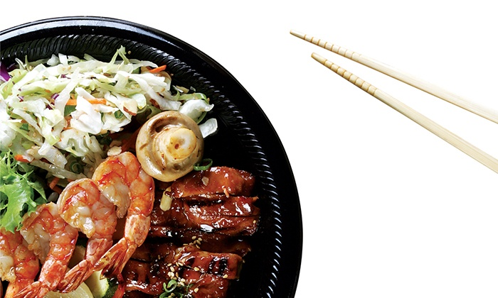 San Sai Japanese Grill - Sansai Maplewood: Japanese Cuisine for Two or Four or More at SanSai Japanese Grill (40% Off)