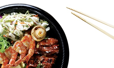Japanese Cuisine for Two or Four or More at SanSai Japanese Grill (48% Off)