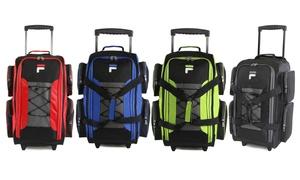 "Fila 22"" Upright Lightweight Rolling Duffel Bag"