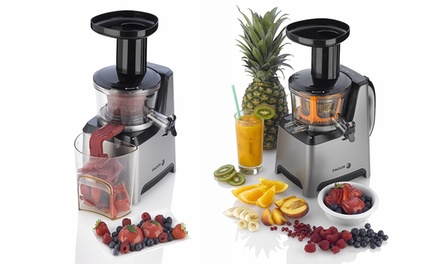 Slow Juicer Deals : Fagor Platino Plus Slow Juicer and Sorbet Maker Groupon
