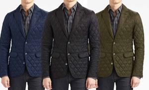 Braveman Men's Quilted Blazer | Groupon Goods : quilted blazer - Adamdwight.com