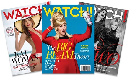 1-Year Subscription to Watch! Magazine (67% Off)