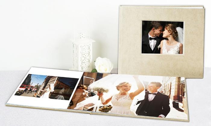 Custom Debossed Lay-Flat Hardcover Photobook from Photobook America