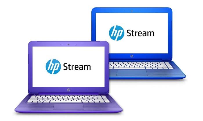 HP Stream 11 11.6 Laptop with 1.6GHz Intel Celeron N3050 Processor, 2GB RAM, and 32GB of Flash Memo...