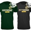 Men's Football Helmet Cotton T-Shirts