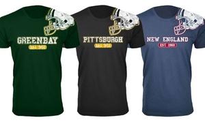 Men's Football Helmet Cotton T-Shirts at Men's Football Helmet Cotton T-Shirts, plus 6.0% Cash Back from Ebates.