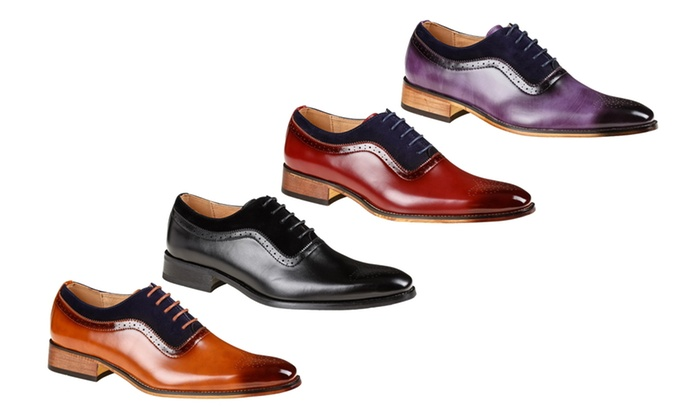 ddbe2f41e05 Up To 73% Off on Gino Vitale Men's Dress Shoes | Groupon Goods