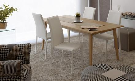 Set di 4 sedie rachel groupon goods - Sedie diva groupon recensioni ...