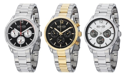So & Co. New York Men's Luminous Sport Monticello Watch Collection