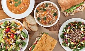 50% Off Salads, Soups, Sandwiches & Breakfast at Ladle & Leaf at Ladle & Leaf, plus 6.0% Cash Back from Ebates.