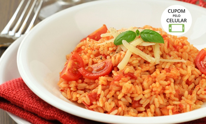 Risoto Mix – Shopping JK: almoço ou jantar com risoto para 2 ou 4 pessoas