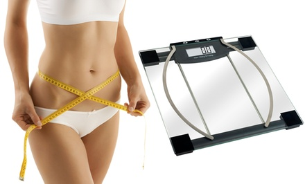 Remedy Digital Body Weight, Fat, and Hydration Scale