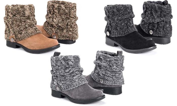 MUK LUKS Women's Patrice Boots (Size 6