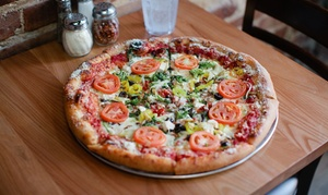 Mellow Mushroom: $15 for $25 Worth of Pizzeria Cuisine at Mellow Mushroom of Fayetteville, Little Rock, and Rogers