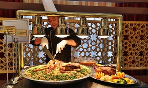 Abu Dhabi Country Club: Iftar Buffet with Mineral Water and Drinks for Up to Four at Abu Dhabi Country Club (Up to 36% Off)