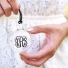 Up to 60% Off Monogrammed Glass Ornaments