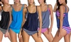 Layered Style Tankini with Briefs
