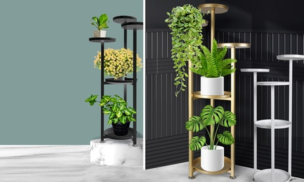 Five-Tier Metal Plant Stand: 100cm ($69) or 120cm ($75) (Don't Pay up to $149.99)