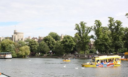 image for Windsor Duck Tours: Ticket for One Adult or Family of Four (Up to 52% Off)