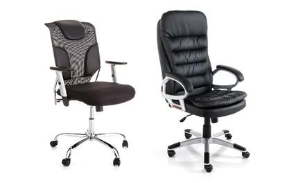 Poltrone da ufficio disponibili in 2 modelli