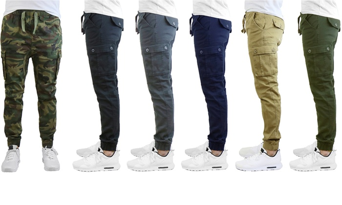 big discount of 2019 huge discount great deals on fashion Up To 65% Off on Galaxy by Harvic Men's Joggers | Groupon Goods