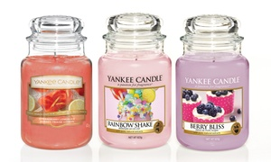 Bougie en grand pot Yankee Candle