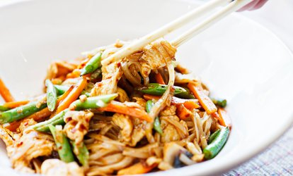 image for Two Main Courses with Ice Cream and Soft Drinks at Chilli Padi Asian Hawkers (Up to 40% Off)