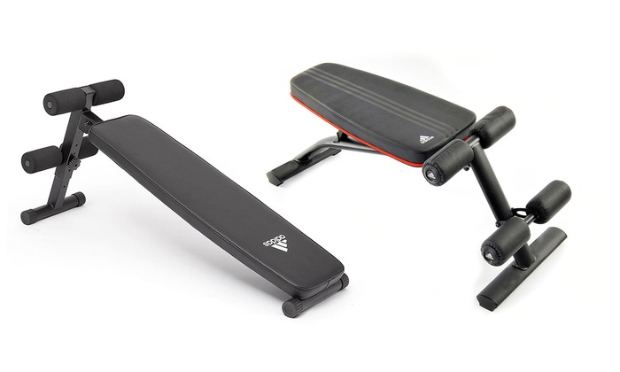 Adidas Exercise Weight Bench | Groupon