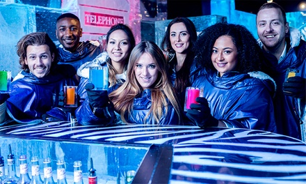 Icebar Experience, Drink and Meal