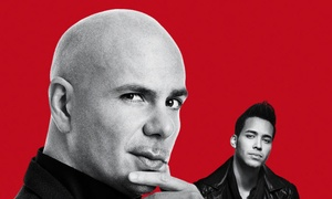 Pitbull - The Bad Man Tour with Prince Royce and special guest Farruko: Pitbull with Prince Royce and special guest Farruko on August 9 at 7:30 p.m.