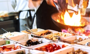 Hodsons Bar & Grill: Eclectic American Cuisine at Hodsons Bar & Grill (Up to 40% Off). Two Options Available.