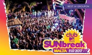 SunBreak Malta 2017 con Bob Sinclar: SunBreak Malta 2017 dal 28 aprile al 1 maggio con Bob Sinclar - Ingresso con volo ed hotel (sconto fino a 30%)