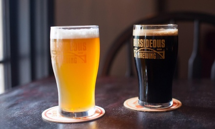 Food and Drink at Barsideous Brewing (Up to 47% Off). Five Options Available.