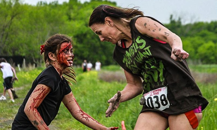 Zombie Race - DPH 4-H Camp: Race Registration for 5K or 15K  at Zombie Race (Up to 54% Off)