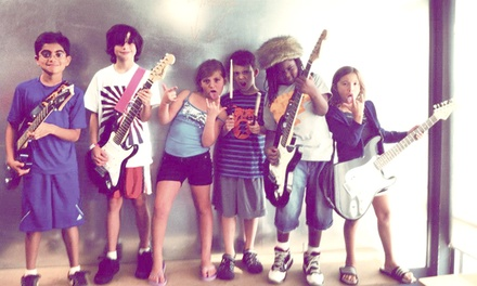 $61.50 for Four Introductory Group Music Classes for Kids Ages 6-7 at School of Rock ($value Value)