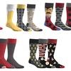 Men's Printed Socks (3-Pack)