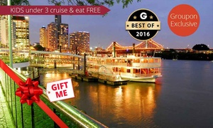 Kookaburra Showboat Cruises: From $49 City Lights Dinner Cruise or from $220 with Romance Package with Kookaburra Showboat Cruises (From $59 Value)