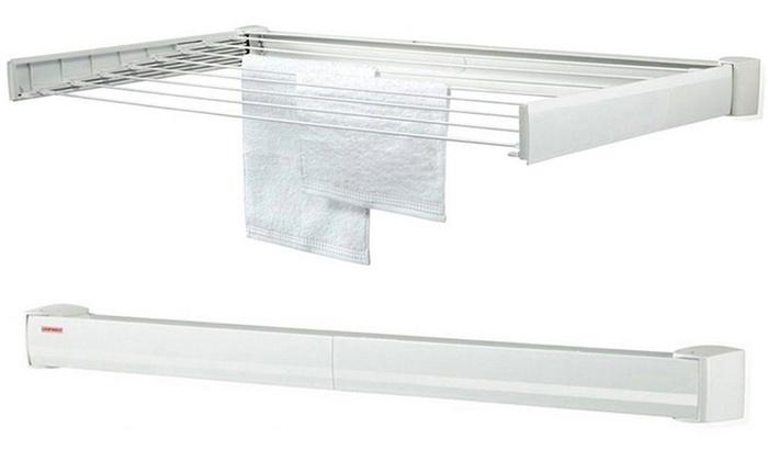 Stendibiancheria da parete leifheit groupon goods - Porta asciugamani da parete ...