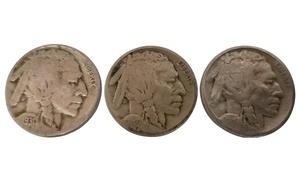 Buffalo Nickel Set (3-Piece)