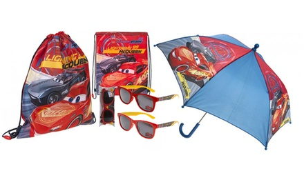 Disney Cars 3 Backpack and Accessories Bundle